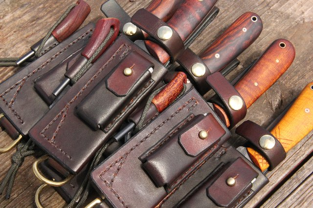 Custom Knives, Lucas Forge, Handmade Knives, Custom Hunting Knives