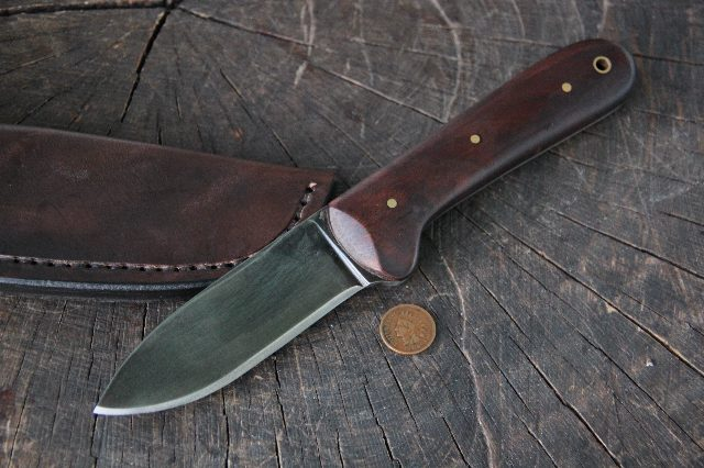 Kephart, Kephart Knife, Walnut, Lucas Forge, Lucas Bullington, Fiddler's Convention, Custom Hunting Knives