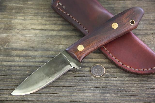 Hunting Knife, Custom Knives, Survival Knife, Lucas Forge, Custom Hunting Knives, Lucas Forge, Packer, Belt Knife