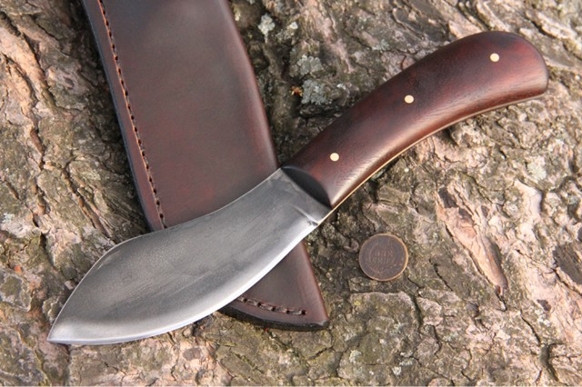 Historical Knives, Reproduction Sears Nessmuk Knife, Nessmuk Knife, Lucas Forge Knives