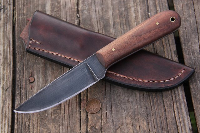 Trade Knife, Custom Hunting Knife, Skinning Knife, Custom Knife, Lucas Forge