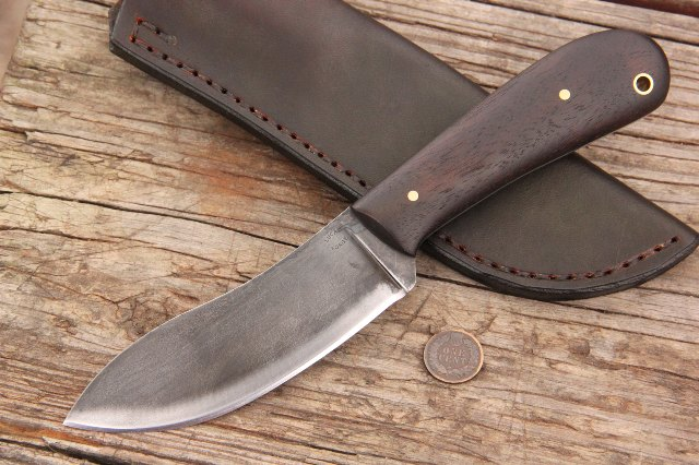 Woodsman Nessmuk, Nessmuk Knife, Custom Nessmuk, Custom Nessmuk Knife, Custom Hunting Knives, Lucas Forge, Custom Hunters Gift, Gift for Hunters, Gifts for Him, Custom Gifts for Him