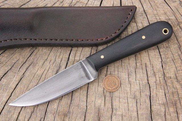 Trapper Knife, Trapping Knife, Skinning Knife, Skinner Knife, Skinner, Lucas Forge, Custom Knives, Hunting Knives