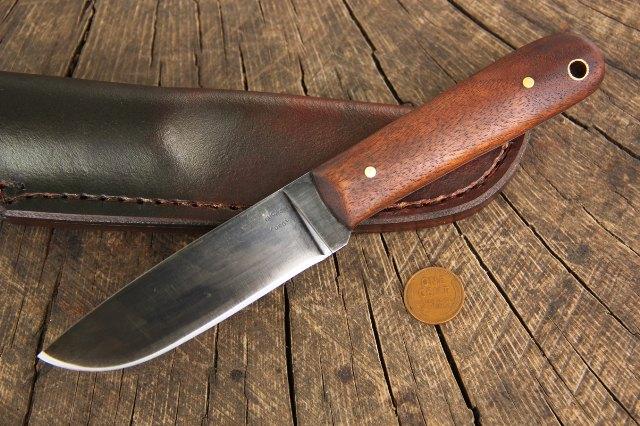 Skinning Knife, Skinner Knife, Custom Hunting Knives, Lucas Forge, Handmade Knives