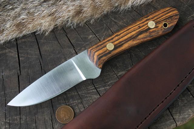 Bacote, Packer, Bacote Packer, Lucas Forge, Custom Hunting Knives, Handmade Knife, Backwoodsman, Lucas Bullington Knives