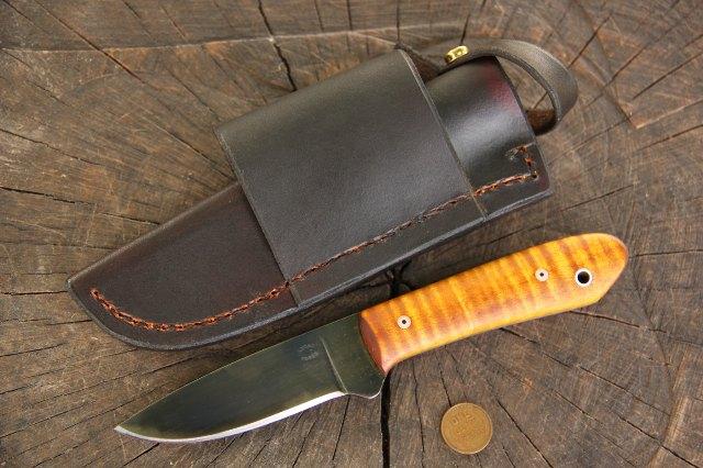 Custom Knife, Packer, Lucas Forge, Custom Hunting Knife