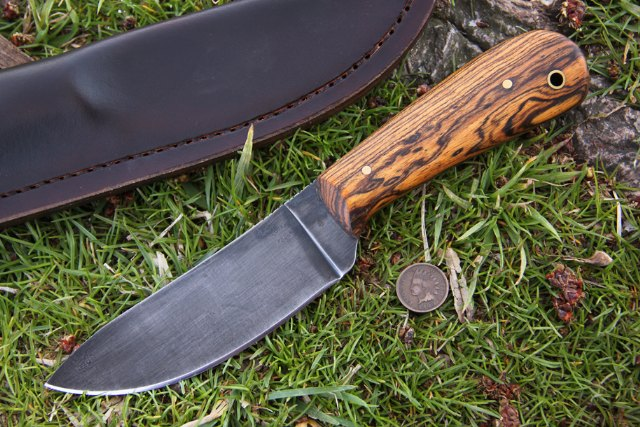 Woodsman Nessmuk, Backwoodsman Nessmuk, Nessmuk Knife, Nessmuk, Lucas Forge