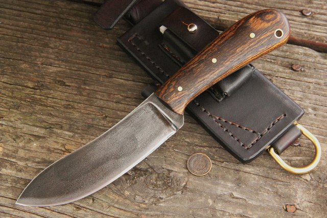 Hunting Knives, Custom Knives, Nessmuk Knives, Lucas Forge