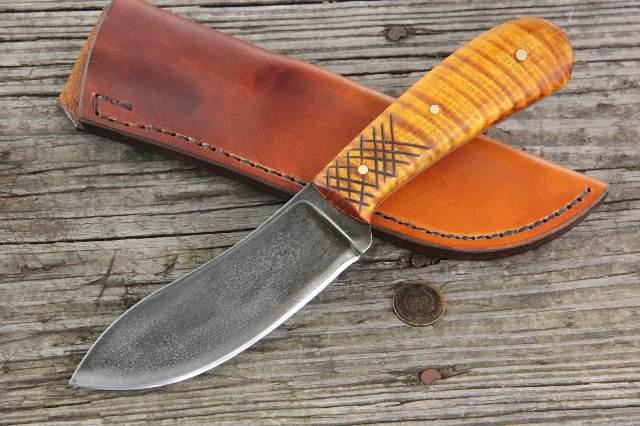Hunting Knives, Custom Knives, Nessmuk Knives, Lucas Forge, Nessmuk, Lucas Knives