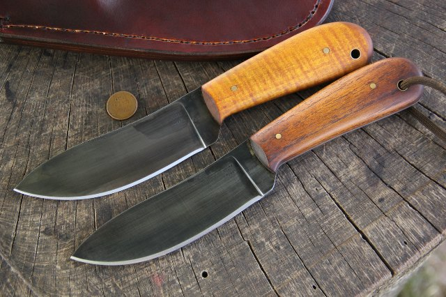 Custom Nessmuk Knives, Woodsman Nessmuks, Custom Hunting Knives, Lucas Forge, Lucas Forge Custom Knives, Lucas Knives, Custom Knives
