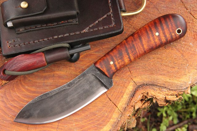 Custom Knives, Hunting Knives, Lucas Forge