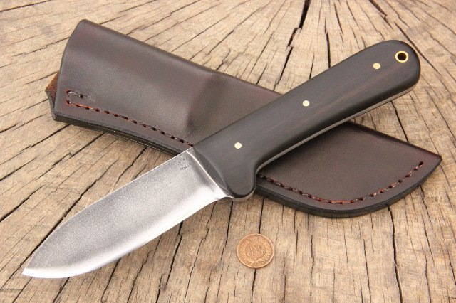 African Blackwood, Kephart Knife, Kephart Knives, Custom Kephart Knife, What is a Kephart Knife, Who Was Kephart, Kephart, Horrace Kephart, Lucas Forge