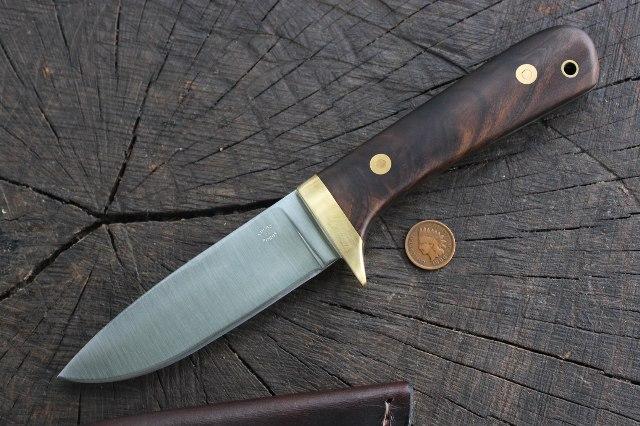 Classic Hunter, Hunter, Hunting Knife, Lucas Forge, Lucas Bullington Knives, Lucas Bullington