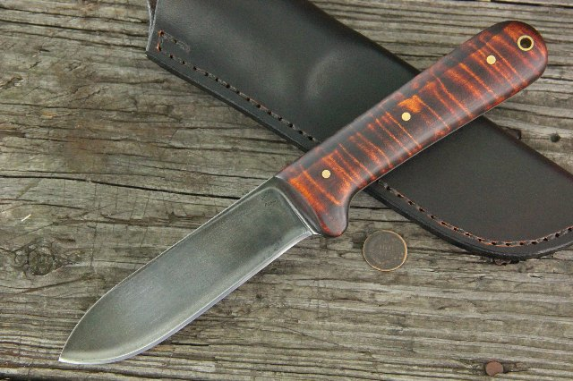Custom Knives, Kephart Knife, Custom Kephart Knife, Lucas Forge, Custom Hunting Knife