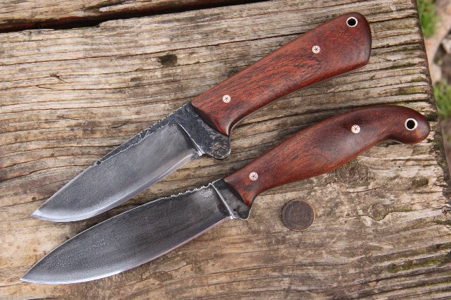 Jack Pine Special, Canadian Knife, Lucas Forge Knives, Custom Knives, Hunting Knives