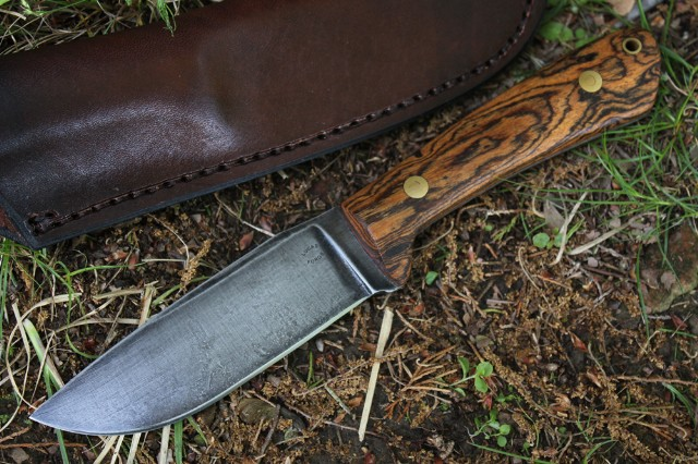 Mini Jaguar, Knife, Custom Knife, Hunting Knife, Lucas Forge, Custom Knives, Lucas Knives, Survival Knives