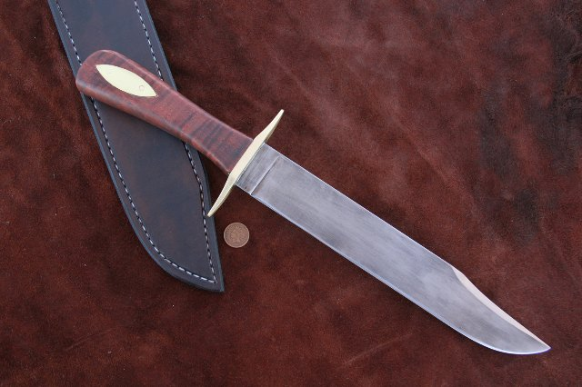Davy Crockett Knife, Alamo Knife, Beekeeper Knife, Custom Hunting Knife, Reproduction Knife