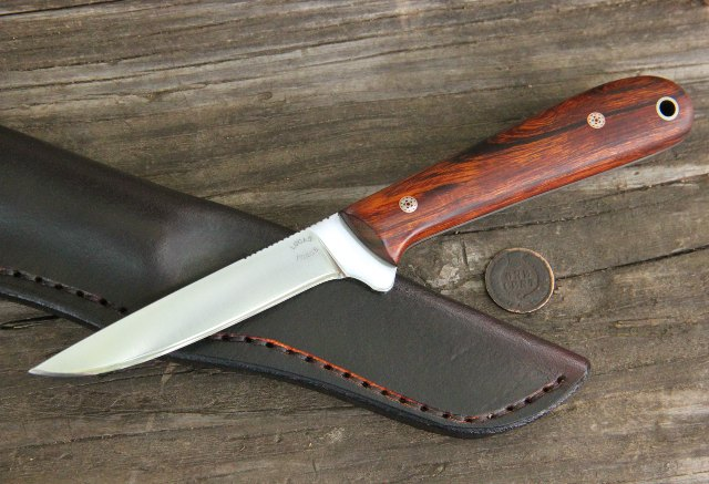 Custom Knives, Skinning Knife, Trapper Knife, Old Trapper Knives, Lucas Forge, Hunting Knife, Woodsman Knives