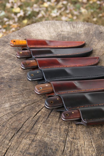 Custom Hunting Knives, Lucas Forge, Custom Knife