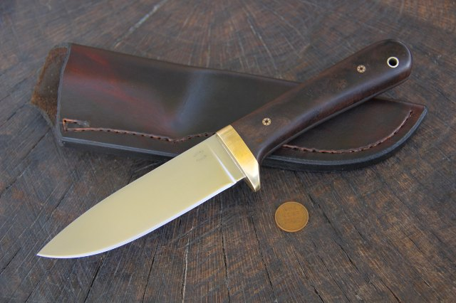 Custom hunting knives, Classic Hunter Knife, Hunting Knives, Lucas Forge, Custom Knives, Classic Knives, Made in usa Knives