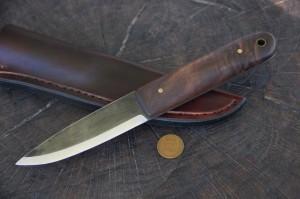 Custom Hunting Knives, Lucas, Forge, Scandinavian Knife, Eskimo Knife, Survival Knife, Viking Knife, Skinning Knife, Hunting Knife
