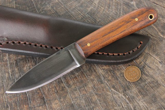 Custom Hunting Knives, Lucas Forge, Frontier Knives