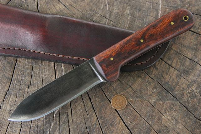 Custom Hunting Knife, Custom Knives, Lucas Forge Knives, Kephart Knife, Kephart
