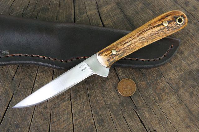 Skinning Knife, ProSkinner Knife, Lucas Forge, Custom Hunting Knives from Lucas Forge