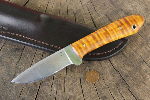 Custom packer Knife, Pack Knife, Belt Knife, Skinning Knife, Field Dressing Knife, Hunting Knife