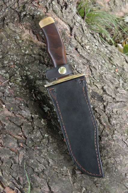 Custom Knives, Lucas Forge Custom Knives, Custom Bowie Knife, Handmade Bowie Knife