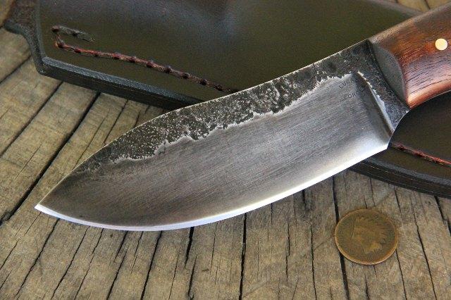 Custom Hunting Knives, Hammer Forged Knife, Hand Forged Knife, Forged Metal, Lucas Forge Knives
