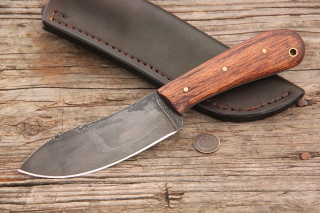 Nessmuk Knife, Lucas Forge, Outdoorsman Knives, Outdoor Knives, Hunting Knives, Full Tang Knives, Custom Knife, Gift Knife, Woods Knife, Camp Knife, Skinning Knife, Lucas Knives