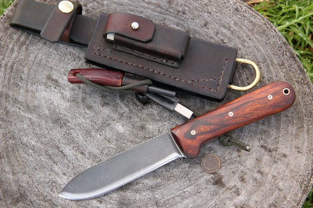 Kephart Knives, Custom Hunting Knives, Kephart, Lucas Forge