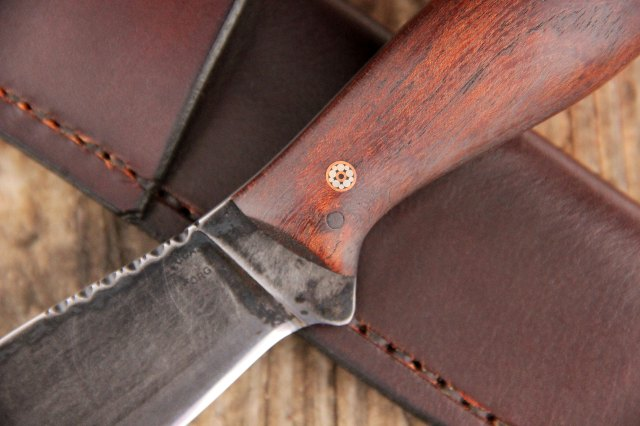 Walnut, Custom Knives, Lucas Forge