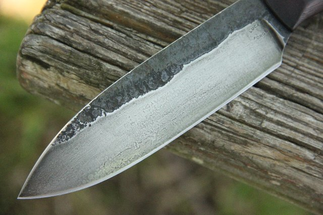 Hammer Forge Knife, Knives Forged in Fire, Custom Forged Knife, Lucas Forge