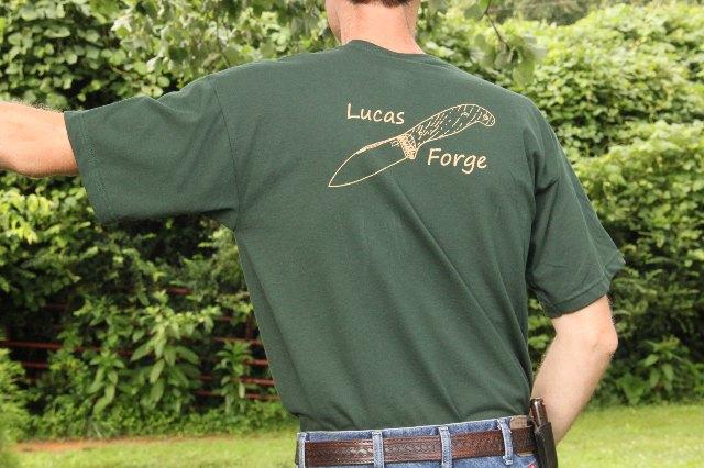 Lucas Forge, Custom Hunting Knives, Lucas Knives
