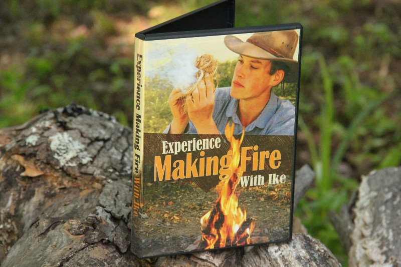 Experience With Ike, Lucas Forge Custom Hunting Knives, How to Make Fire, Instructional Outdoor DVDs, How to Survive, How to Make Fire, Fire Starters, Fire Starting