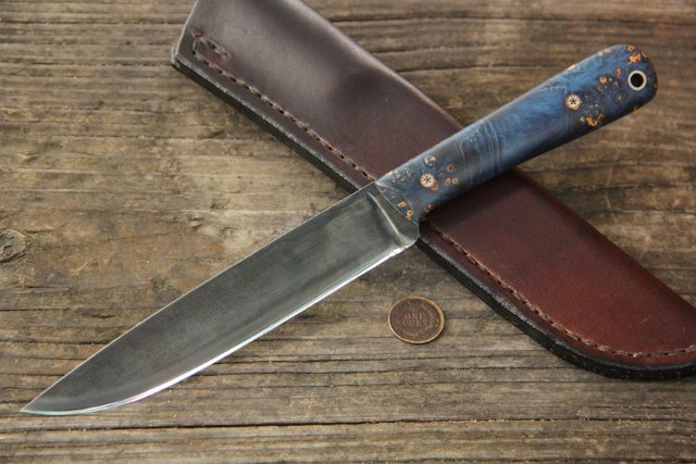 Custom Knives, Beautiful Handmade Knives, Lucas Forge, Gifts for Outdoorsmen