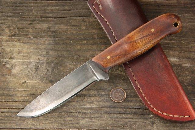 Custom Hunting Knives, Lucas Forge, Hunting Knife, Full Tang Knife