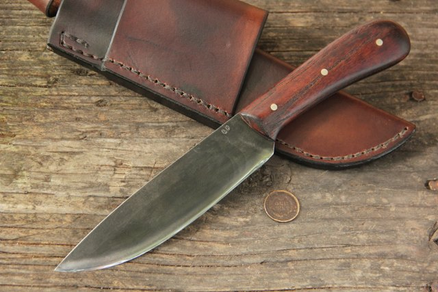 Walnut Trade Knife | Lucas Forge