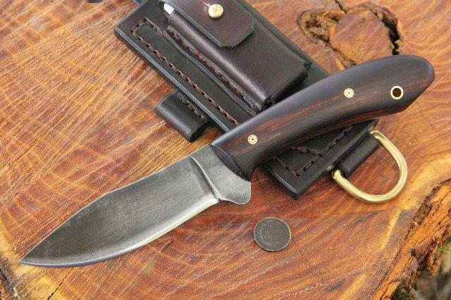 Trekker, Trekker Sheath, Lucas Forge, Handmade Knives, Custom Knife for Sale