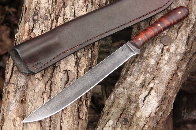 Grilling Knife, Custom Grilling Gifts, Custom Grill Knife, Chef Knife, Lucas Forge Knives