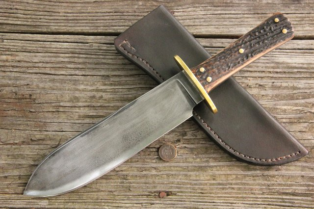 Camp Knife, Hunting Knives, Reproduction Knives, Historic Knives, Lucas Forge