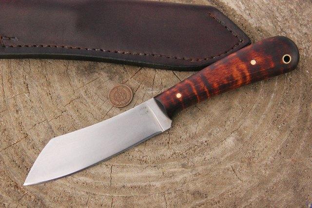 Utility Knife, Custom Hunting Knives, Lucas Forge, Custom Knives, Bush Knife, Camp Knife, Chef's Knife, Chef Knife