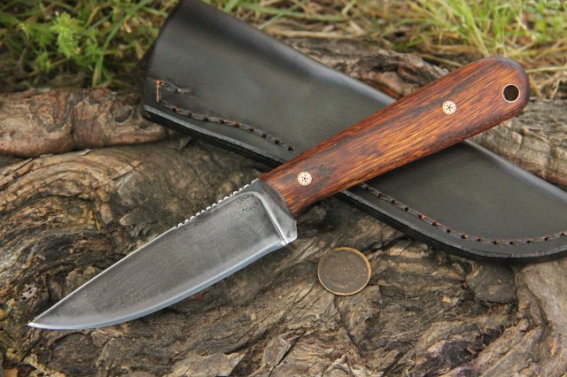 Trapper, Trapping Knife, Skinning Knife, Lucas Forge, Custom Made Knives