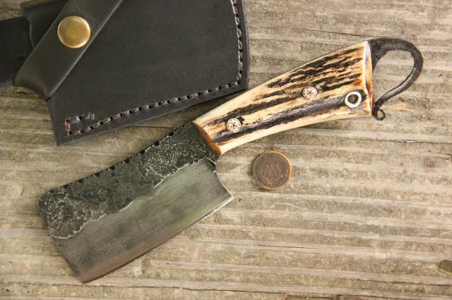 Custom Cleaver, Custom Meat Cleaver, Custom Cheese Knife, Cheese Gifts, Lucas Forge, Custom Knives