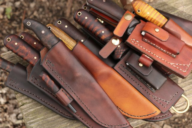 Custom Hunting Knives, Lucas Forge, Hunting Knives, Custom Handmade Knives, Custom Knifemakers